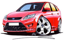 Load image into Gallery viewer, Ford Focus (Mk2)(Facelift) ST (5dr) - Caricature Car Art Coffee Mug