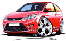 Load image into Gallery viewer, Ford Focus (Mk2)(Facelift) ST (3dr) - Caricature Car Art Coffee Mug