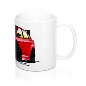Ford Focus (Mk3) RS Limited Edition - Caricature Car Art Coffee Mug