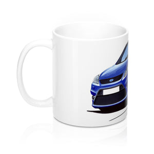 Ford Focus (Mk2)(Facelift) ST (5dr) - Caricature Car Art Coffee Mug