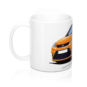 Ford Focus (Mk2)(Facelift) ST (3dr) - Caricature Car Art Coffee Mug