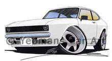 Load image into Gallery viewer, Ford Capri (A) - Caricature Car Art Coffee Mug