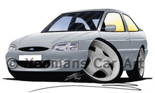 Load image into Gallery viewer, Ford Escort (Mk7) Si - Caricature Car Art Coffee Mug