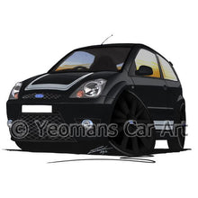 Load image into Gallery viewer, Ford Fiesta (Mk6)(Facelift) ST500 - Caricature Car Art Coffee Mug