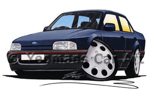 Ford Orion - Caricature Car Art Coffee Mug