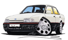 Load image into Gallery viewer, Ford Orion - Caricature Car Art Print