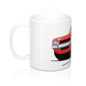 Ford Capri (Mk1) - Caricature Car Art Coffee Mug