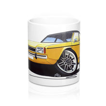Load image into Gallery viewer, Ford Capri (Mk2) - Caricature Car Art Coffee Mug