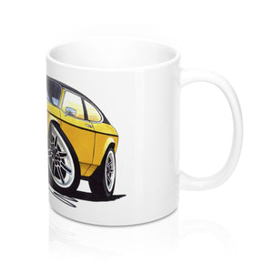 Ford Capri (Mk2) - Caricature Car Art Coffee Mug