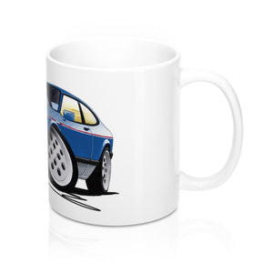 Ford Capri (Mk3) 2.8i - Caricature Car Art Coffee Mug