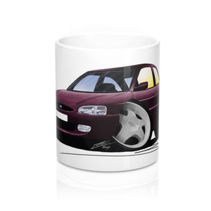 Ford Escort (Mk7) Si - Caricature Car Art Coffee Mug