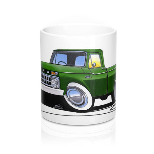 Ford F-100 - Caricature Car Art Coffee Mug