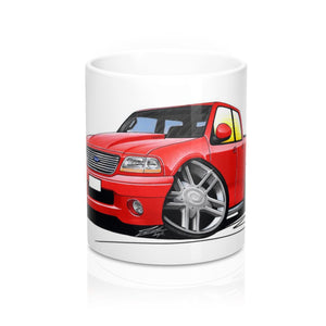 Ford F-150 - Caricature Car Art Coffee Mug