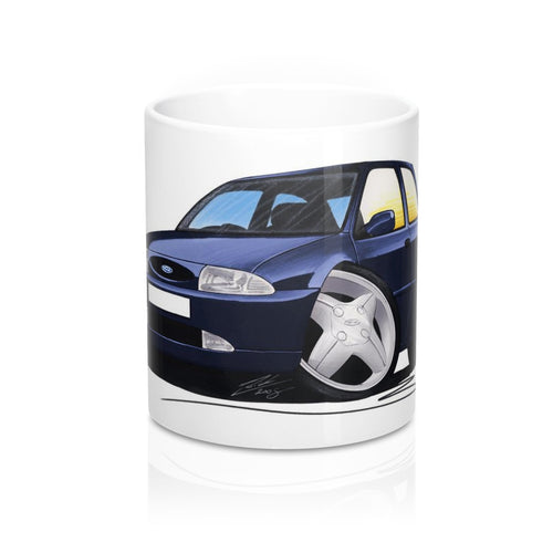 Ford Fiesta (Mk4) - Caricature Car Art Coffee Mug