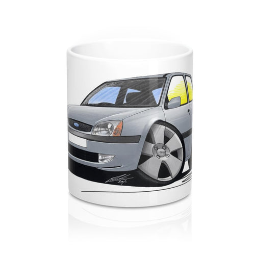 Ford Fiesta (Mk5) - Caricature Car Art Coffee Mug