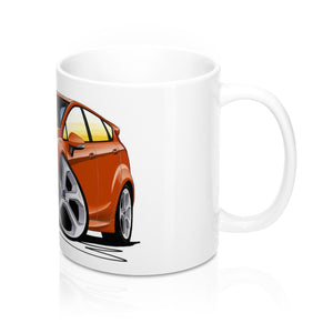 Ford Fiesta (Mk7) ST (5dr) - Caricature Car Art Coffee Mug