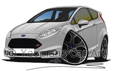 Load image into Gallery viewer, Ford Fiesta (Mk7) ST200 Limited Edition - Caricature Car Art Coffee Mug