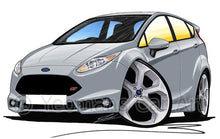 Load image into Gallery viewer, Ford Fiesta (Mk7) ST (5dr) - Caricature Car Art Coffee Mug