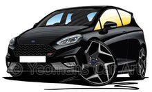 Load image into Gallery viewer, Ford Fiesta (Mk8) ST (3dr) - Caricature Car Art Coffee Mug