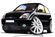 Load image into Gallery viewer, Ford Fiesta (Mk6) ST - Caricature Car Art Print