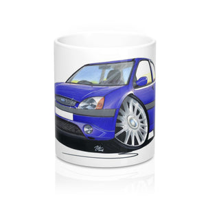Ford Fiesta (Mk5) Zetec S - Caricature Car Art Coffee Mug