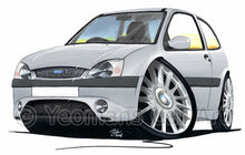 Load image into Gallery viewer, Ford Fiesta (Mk5) Zetec S - Caricature Car Art Print