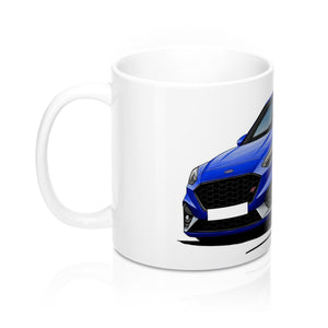 Ford Focus (Mk4) ST - Caricature Car Art Coffee Mug
