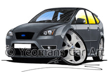 Load image into Gallery viewer, Ford Focus (Mk2) ST (5dr) - Caricature Car Art Print