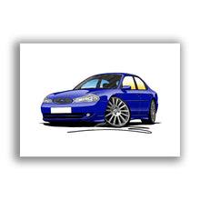 Load image into Gallery viewer, Ford Mondeo (Mk2) ST200 - Caricature Car Art Print