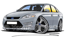 Load image into Gallery viewer, Ford Mondeo (Mk4)(Facelift) X-Sport - Caricature Car Art Coffee Mug