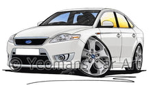Load image into Gallery viewer, Ford Mondeo (Mk4) X-Sport - Caricature Car Art Coffee Mug