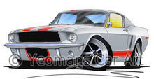 Load image into Gallery viewer, Ford Mustang (1968) - Caricature Car Art Coffee Mug