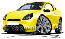 Load image into Gallery viewer, Ford Puma Millennium Edition - Caricature Car Art Print