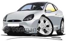 Load image into Gallery viewer, Ford Puma - Caricature Car Art Coffee Mug