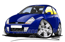 Load image into Gallery viewer, Ford SportKa - Caricature Car Art Print