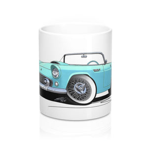 Ford Thunderbird - Caricature Car Art Coffee Mug