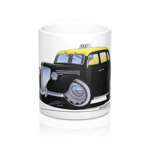 Ford V8 Taxi (Montevideo) - Caricature Car Art Coffee Mug