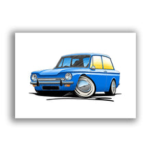 Load image into Gallery viewer, Hillman Imp - Caricature Car Art Print
