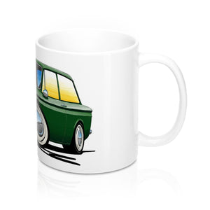 Hillman Imp - Caricature Car Art Coffee Mug