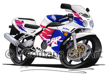 Load image into Gallery viewer, Honda CBR250RR - Caricature Bike Art Print