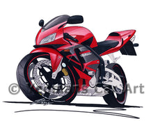 Load image into Gallery viewer, Honda CBR600RR - Caricature Bike Art Print