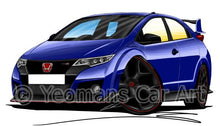 Load image into Gallery viewer, Honda Civic Type-R (Mk4)(FK2) - Caricature Car Art Coffee Mug