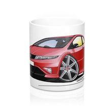 Load image into Gallery viewer, Honda Civic Type-R (Mk3)(FN2) - Caricature Car Art Coffee Mug