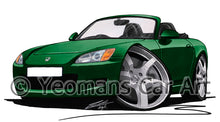 Load image into Gallery viewer, Honda S2000 - Caricature Car Art Print