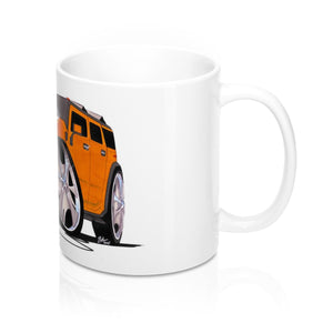Hummer H2 - Caricature Car Art Coffee Mug