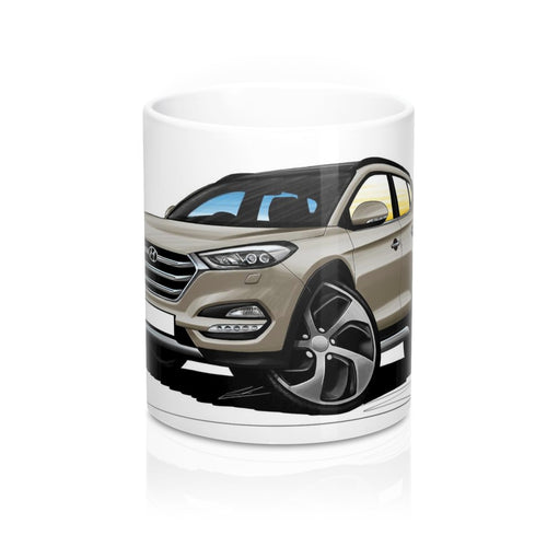 Hyundai Tucson (Mk3) - Caricature Car Art Coffee Mug