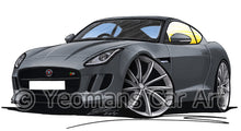 Load image into Gallery viewer, Jaguar F-Type Coupe - Caricature Car Art Print