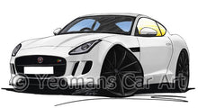 Load image into Gallery viewer, Jaguar F-Type Coupe - Caricature Car Art Coffee Mug