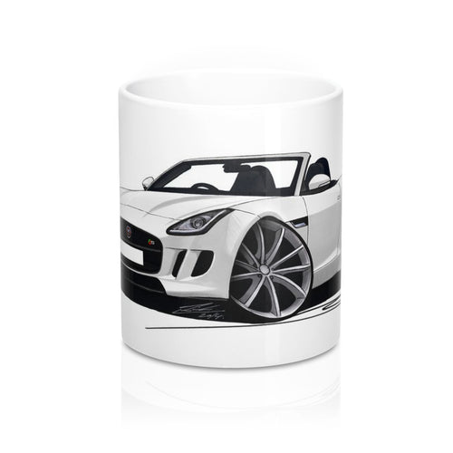 Jaguar F-Type - Caricature Car Art Coffee Mug
