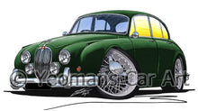 Load image into Gallery viewer, Jaguar Mk2 - Caricature Car Art Coffee Mug